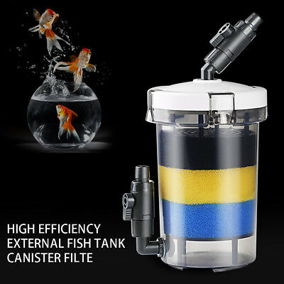 Aquarium Fish Tank External Canister Filter Outside Pre-Filter Mini Filter AU