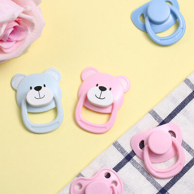 DIY Kids Toy Handmade Doll Magnet Pacifier Dummy Nipples New Baby Simulation