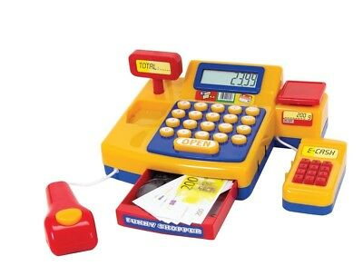 "Simba 265485350cm Supermarket Cash Register"" Playset. Shipping is Free"