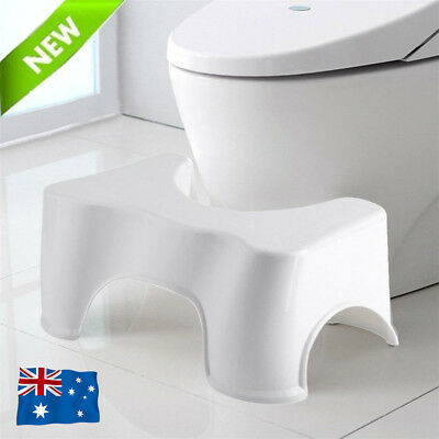 "8.5"" Sit And Squat Squatty Potty Stool Eco Toilet Step Stool Healthy Colon AU"