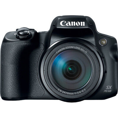 Canon PowerShot SX70 HS Digital Camera Black (Multi) Ship in EU