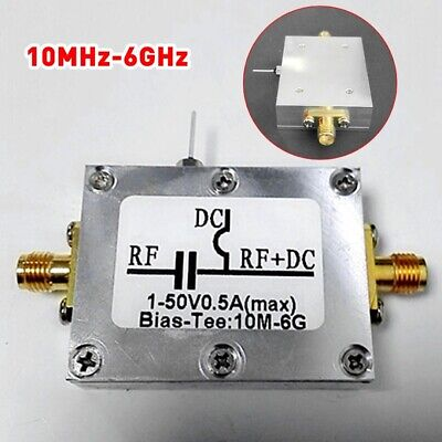 Low Noise Amplifier RF Biaser Bias Tee 10MHz-6GHz F HAM Radio RTL SDR LNA