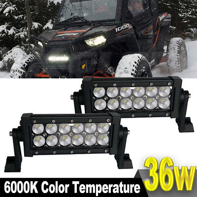 7Inch Led Light Bar Flood Upper Roof Light For Ford Truck Honda 4Wd Driving Lamp