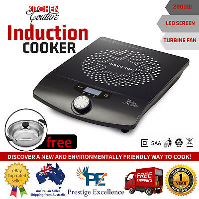 2000W Electric Induction Cooker And Pot Kitchen Couture Portable Cooktop Ceramic