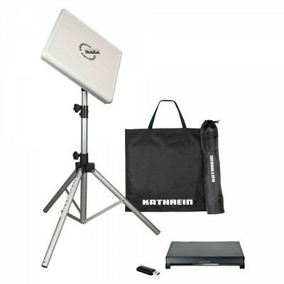Kathrein HDS 166 plus mobiles Twin Antennen Set Streaming Sat Anlage Camping