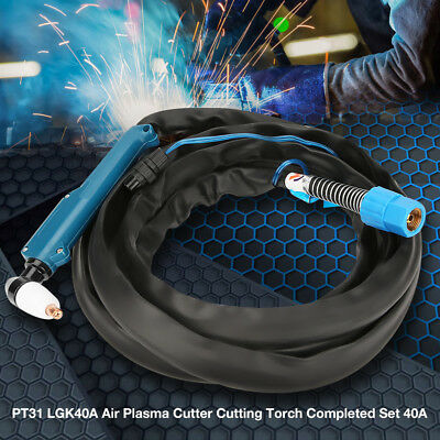 40A PT31 LGK Air Plasma Cutter Torch Completed Set for CT-416 MTC-160