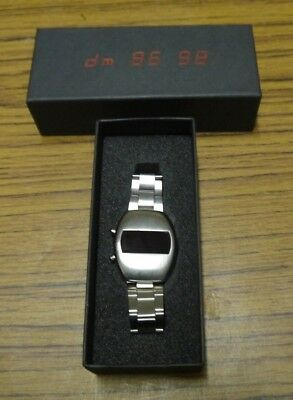 Depeche Mode 86-98 UK Promo Stainless Steel Watch For Singles Compilation 1998