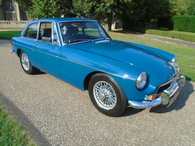 1972 Mg B Gt, Restored Car With Power Steering.