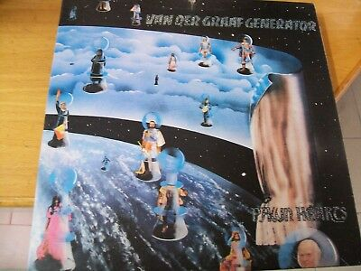 Van Der Graaf Generator Pawn Hearts Lp Uk Scroll Labels First Press Inner