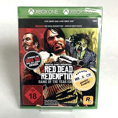 Red Dead Redemption Game of the Year Edition GOTY - Xbox One Xbox 360 *nagelneu*
