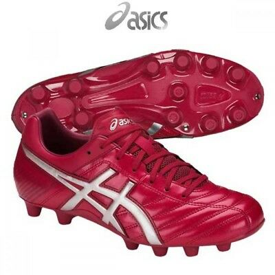 NEW ASICS Soccer Rugby Spike Shoes DS LIGHT WB 2 TSI754 Burgundy With  Tracking 30e5ae270dd