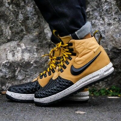 timeless design c1bdc d65c0 Nike Air Force 1 Lunaire Force 1 Unisexe Duckboot Montantes Baskets Basket  UK 8