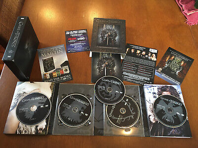 Game of Thrones The Complete First Season 1, 5-Disc DVD Box Set