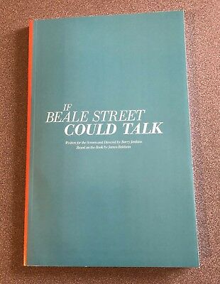If Beale Street Could Talk - FYC screenplay book by Barry Jenkins