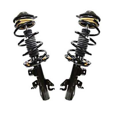 Front Pair (2) Complete Struts Assembly w/coil and springs Fits 13-16 Dodge Dart