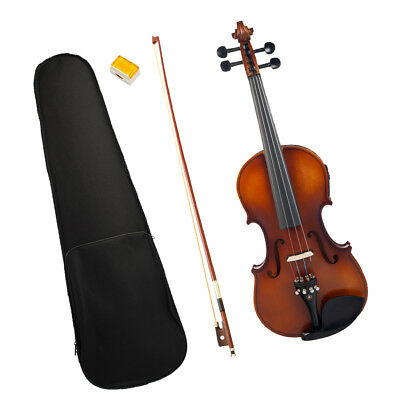 Finest 4/4 Silent Electric Acoustic Violin Fiddle for Beginners Students