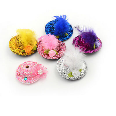 Round bowler doll hat caps for 28-30cm doll clothes accessories SS