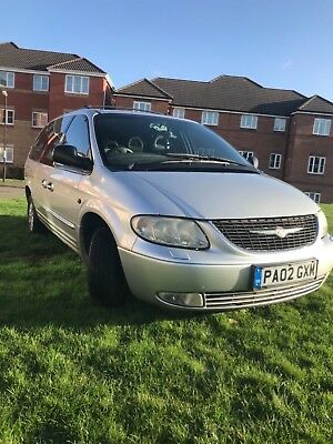 Chrysler grand voyager 3.3 lpg limited edition  2002