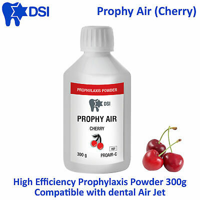 Dental DSI Prophy Air Prophylaxis Powder Teeth Polish Stain Remove Cherry 300g