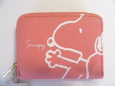 PEANUTS SNOOPY COIN CARD CASE PURSE Mini Bag Real Cute goods Japan item