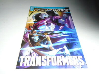 Transformers First Strike 1 COVER A (IDW Comics) Oct 2017