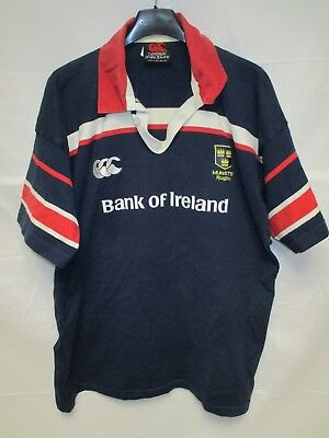 Maillot MUNSTER RUGBY vintage CANTERBURY shirt jersey 2004 away XL