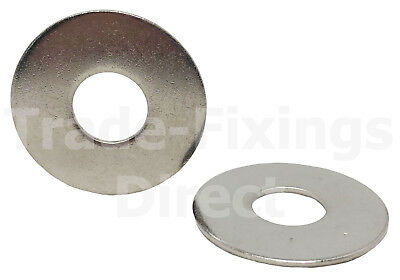 M6 x 25mm REPAIR/MUDGAURD WASHERS A2 STAINLESS STEEL TRADE-FIXINGS DIRECT