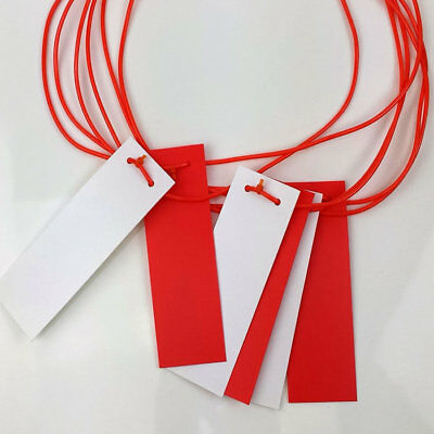 Caution Marker 25 Flags Red White Rope Safety Pendant Bunting 26 metres