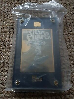 marvel 24k silver surfer gold card  limited edition run. Authentic