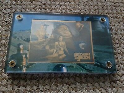 Star wars 24k leia jabbas the hutt gold card  limited edition run. Authentic