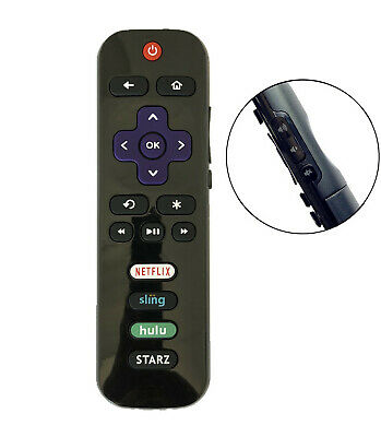 New USBRMT Replaced TCL ROKU TV Remote RC280-06 STARZ 28S3750 43UP120 55FS3750