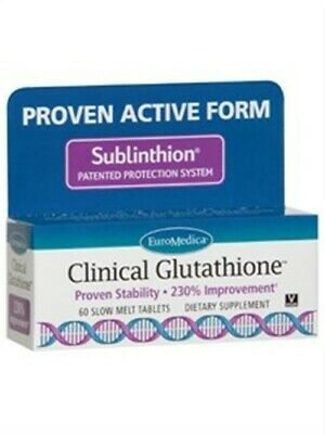 Euromedica - Clinical Glutathione 60 Tablets