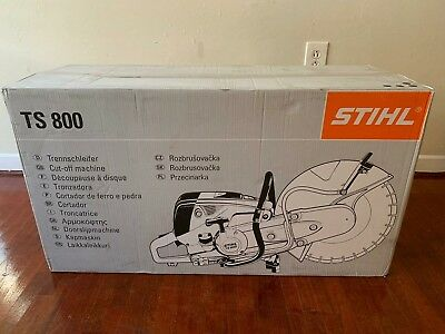 "STIHL TS800 CUTOFF CONCRETE 16"" brand new no use"