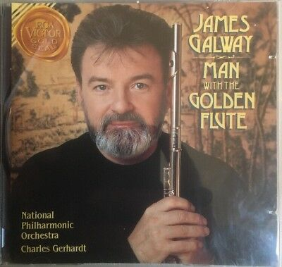 James Galway - Man with the Golden Flute -  CD JBVG The Cheap Fast Free Post The