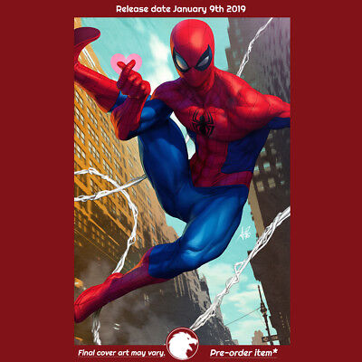 FRIENDLY NEIGHBORHOOD SPIDER-MAN #1 ARTGERM 1st Print (WK02.19) (W) Tom Taylor