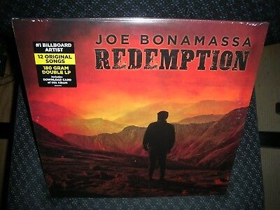Joe Bonamassa ** Redemption **NEW DOUBLE GATEFOLD RECORD LP VINYL