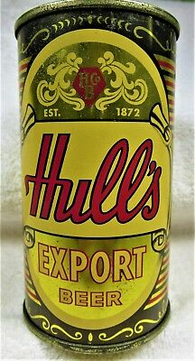 can Hull's Export Beer 12 oz USBC 84-24 MT 1957 New Haven flat top.USA only