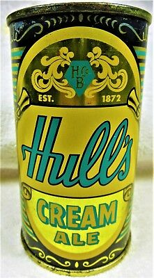 can Hull's Cream Ale 12 oz USBC 84-19 MT 1958 New Haven flat top.I shi] USA only