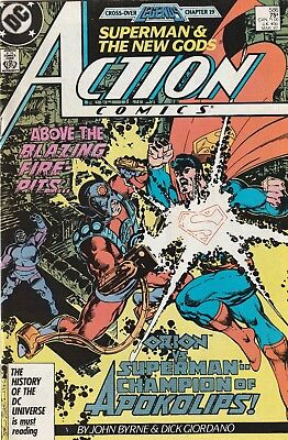 Superman Action Comics # 586 (1979) VF DC Comics The New Gods