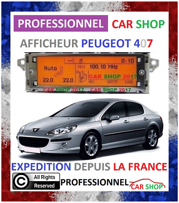 Afficheur Multifonction Peugeot 407 Lcd Multifunctional Display Screen 407
