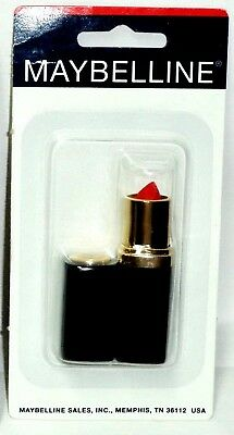 1 Maybelline REVITALIZING Lipstick Lip Color No Dryness Or Drag REALLY RED 30