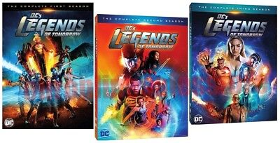 DCs Legends of Tomorrow TV Series Complete All 1-3 Seasons DVD Set Collection DC