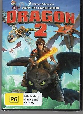 How To Train Your Dragon 2 DVD NEW