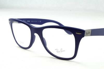 a8be8fc6c17784 Ray Ban RB7034 7034 Liteforce Eyeglasses Matte Blue 5439 Authentic 50mm