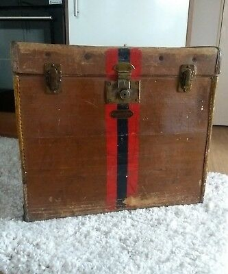 A Nice Antique Storage Trunk* Car Luggage Trunk*