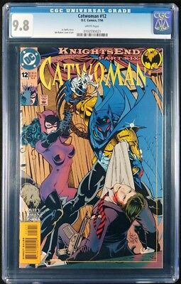 Catwoman #12 CGC 9.8! White Pages! (DC Comics 1994)