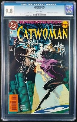 Catwoman #7 CGC 9.8! White Pages! (DC Comics 1994)