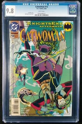 Catwoman #13 CGC 9.8! White Pages! (DC Comics 1994)