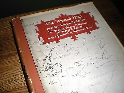 1965 The Vinland Map and the Tartar Relation by Skelton, Marston and Painter