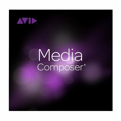 Avid Media Composer (perpetual license) Brand New, Never Expires